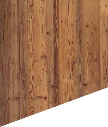 Holzoberfläche massiv – Fichte sonnverbrannt Braun