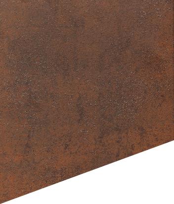 Keramikoberfläche – Art Corten