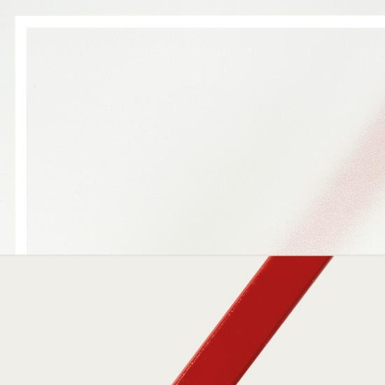 Float sandgestrahlt Fläche matt, Streifen klar